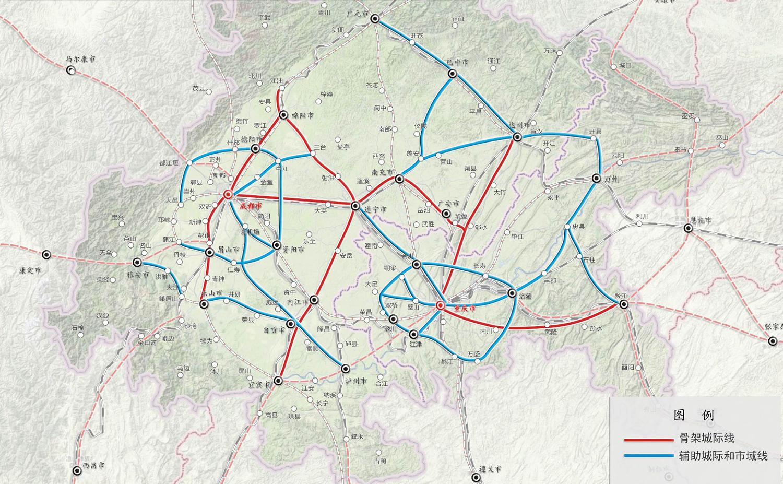 成都铁路局规划图_未来五年成渝地区将建8条城际铁路 覆盖四川17市_四川在线
